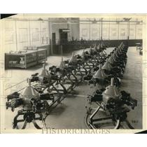 1930 Press Photo Whirlwind Fives Engine Production