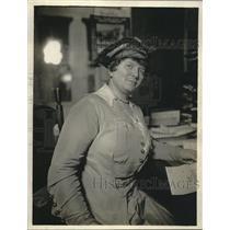 1918 Press Photo Ida Powell Priest Prominent War Worker Lives in Brooklyn