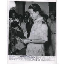 1955 Press Photo Gen. Nguten Thanh Phuong Commander in Chief