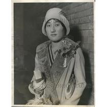 1928 Press Photo Seisu Matsudaira Daughter Of Japanese Ambassador