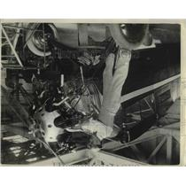 1929 Press Photo Harry Abbott, pilot of San Francisco on endurance flight