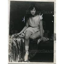 1925 Press Photo Actress Marguerite McNulty Filed Suit