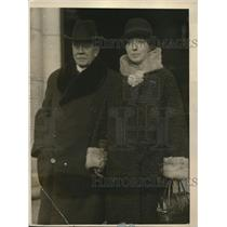 1926 Press Photo M. Henri Berenger, French Ambassador to the U.S., with his wife
