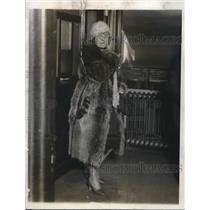 1920 Press Photo Sadie Griffin questioned in Harold Dunston case ;Philadelphiia
