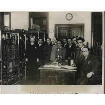 1931 Press Photo Pabal radio Station Rome Italy