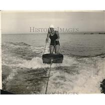 1929 Press Photo Helen Meaney, fancy diving champion at the Olympics games