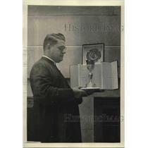1922 Press Photo Rev. N. De Carlo, Pastor of Holy Rosary Church