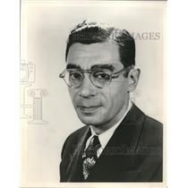 1955 Press Photo New York;Elmer Berg, American Council on Judaism.