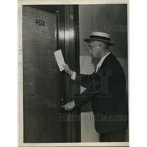 1922 Press Photo William Casey, special Deputy Sheriff - nec07071