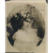 1919 Press Photo Miss Harriet Pratt of NY - nec06243