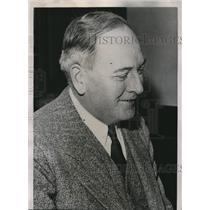 1935 Press Photo Thomas Latimer Farmer Labor Mayor Elect of Minneapolis Minn