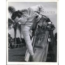 1941 Press Photo Paul Derringer Cincinnati Reds, Baseball Players Golf Tourn.