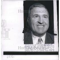 1954 Press Photo Norman Red Strader Appointed Head Coach for San Francisco 49ers
