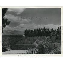 1935 Press Photo scenic Silver Peak Guest Ranch in Walnut, CA