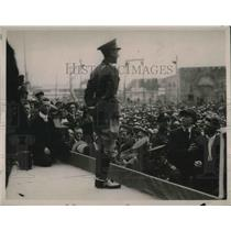 1919 Press Photo Prince of Wales Speaks At Toronto Canada Exhibition Race Track