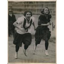 1921 Press Photo Peggy Goerth Co Ed Field Day Syracuse Helen Wood