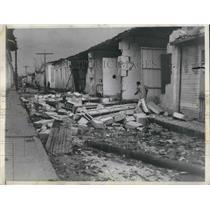 1941 Press Photo Bejucal Cuba Tornado ripped thru town 20 miles south Havana