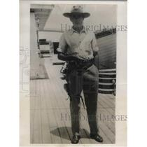1931 Press Photo A.R. Beardsley Canadian in Nicaragua Killed Insurgent Leader