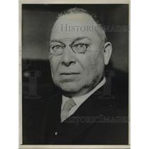 1932 Press Photo Minister of Labor Schaeffer
