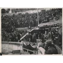 1927 Press Photo Bull ring in Nimes French City