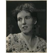 1933 Press Photo Mona Goodwyn Williams Women in News
