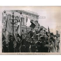 1936 Press Photo Nationwide Celebration of Italian Conquest of Addis Ababa
