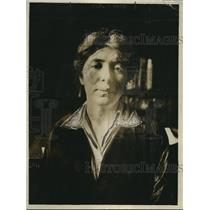 1918 Press Photo Rose Pastor Stokes Wife of Jay P. Stokes Headshot Stylish Woman
