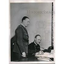 1940 Press Photo lieutenant gen. Par silvan Swedish Army