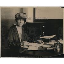 1920 Press Photo Mrs John Blair, Vice Chairman, Memphis Bureau