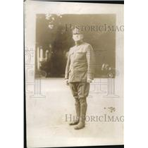 1918 Press Photo Major Frank Smith Military Postman Actively Served in France