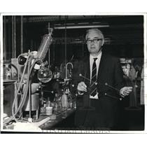 1969 Press Photo Professor Derek Barton Is Joint Winner in 1969 Nobel Prize