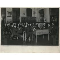 1931 Press Photo Students Learn Art Of Radio At Working Men's Institute