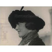 1920 Press Photo MIss Jessie Milligan