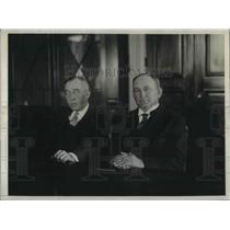 1929 Press Photo Senators David A Reed and Joseph Robinson appointed envoys