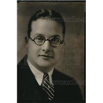 1930 Press Photo Walter Nelson Jr, Mayor of Witchita Falls, TX