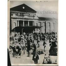 1932 Press Photo Japanese Soldiers In Mukden Center Of Fighting In Manchuria