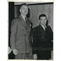 1943 Press Photo Nazi Aid gets 6 1/2 yrs prison Theodore Donay aid German flier