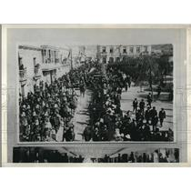 1928 Press PhotoArrival of Pres. H. Siles in La Paz, Bolivia