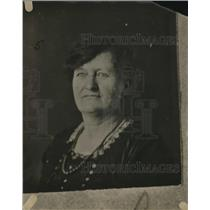1921 Press Photo Portrait Of Old Lady Mother Of Anna Bell Leach