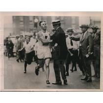 1922 Press Photo Andrew Hisler Wins Marathon From Philadelphia to Atlantic City