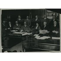 1920 Press Photo British Soviet in secret secession - nec19927