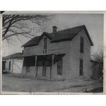 1931 Press Photo Mrs. Maude Martin shot to death in her home.