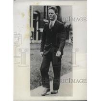 1932 Press Photo 2nd Lt Herbert C Lichtenberger Flying Instructor Randolph Field