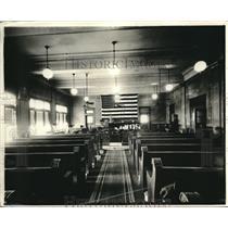 1921 Press Photo Courtroom of Hamon Murder case