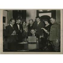 1921 Press Photo Math Genius Albert Gamble Startles Scientists With His Ability