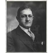 1929 Press Photo Bridge Player Sam Guggenheim