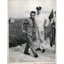 1937 Press Photo Major Alexander De Seversky