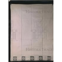 1921 Press Photo Pillow Case by Fancy Work