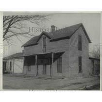 1931 Press Photo Mrs. Maude Martin was shot to death. Coffeyville Knasas.