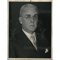 1933 Press Photo E.T Weir, Chairman National Steel Company